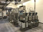 Laboratoryjna linia do pasteryzacji i homogenizacji mleka